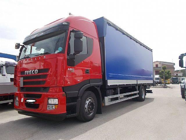 Iveco STRALIS 190S46 CENTINATO 7.60 MT PEDANA 2012 EURO - 2012