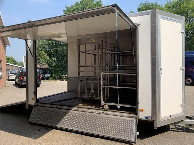 Kuiphuis Gesloten koel verkoop aanhangwagen - 2011