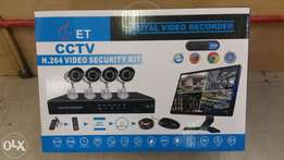 Cctv video security kit H264