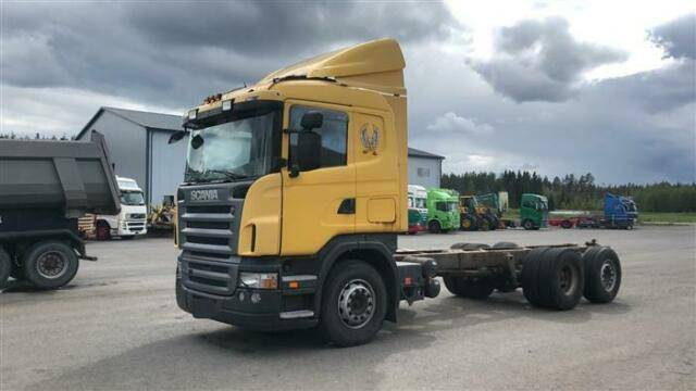 Scania R420 SOON EXPECTED 6X2 CHASSIS MANUAL - 2007