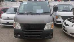 Nissan Caravan Diesel automatic available for sale.