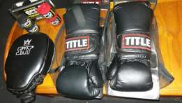 Hardly used boxing gear for sale