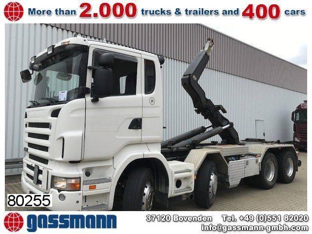 Scania r420 cb 8x4, retarder - 2007