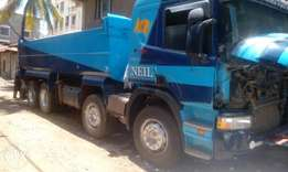 Selling scania tipper 380
