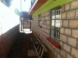1/8 plot annex with 4bedroom house with title