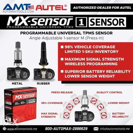 TPMS SENSORS Rubber and metal from Autel