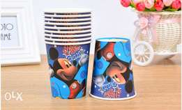 Mickey mouse papper cups