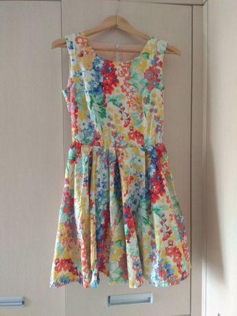 Архів  Сукня кольорова   платье в мелкий цветок цветное  150 грн. - Жіночий  одяг Хмельницький на Olx d516fa91e4a43