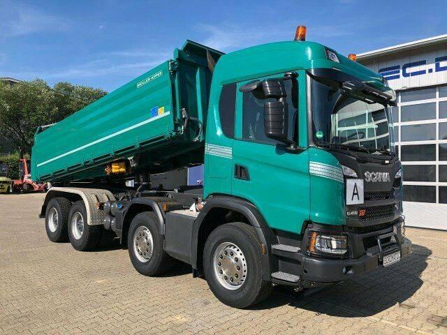 Scania G450 XT 8x4 EURO6 DSK mit Bordmatik TOP! - 2018