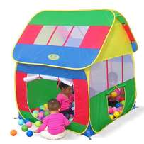 play tent house shaped