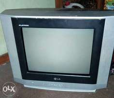Neatly used LG flatron 14in TV for sale