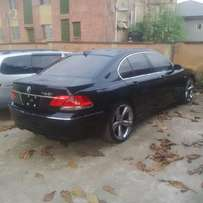 A lagos cleared 2007 BMW 750i, navi, ac, auto, leather, 6cd, alloy.