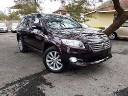 2011 Toyota Vanguard 4WD 7 Seater with Spare Tyre