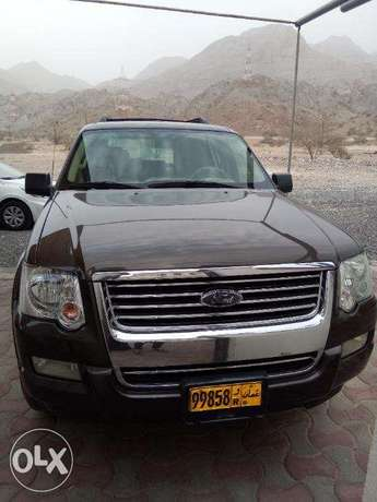 Ford Explorer 2008. Doctor used. Low mileage.