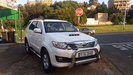 2012 toyota fortuner 3.0 d4d 4*4 for sale