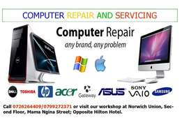 Laptop Repairs And Servicing.