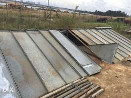 Strong Building materiaal for Roof and wall Strong Galvanice Plates