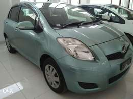 Toyota Vitz light green