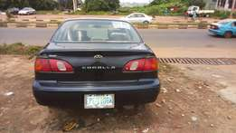 Toyota corolla(okere-jowo e)at affordable Price
