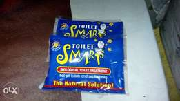 Toilet Smart septic tank and pit toilet cleaner.