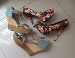 High Heels and Wedges for Sale