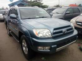 2005 foreign used Toyota 4runner. Blue