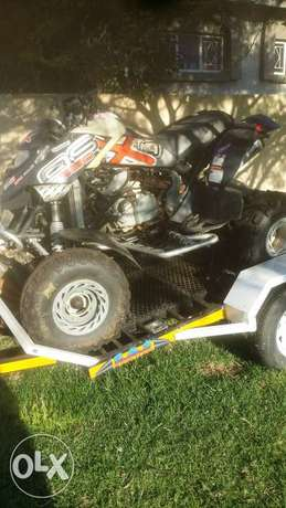 Bombardier CanAm 650 with trailer Lydenburg - image 1