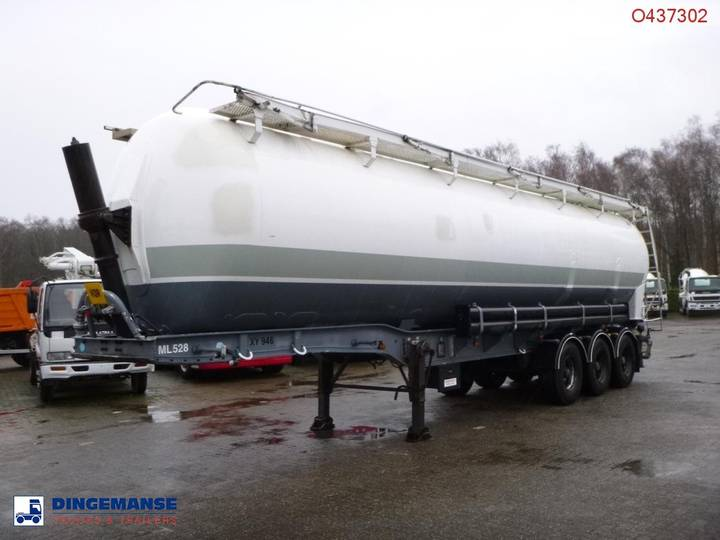 Benalu Bulk tank alu 58 m3 (tipping) - 1999