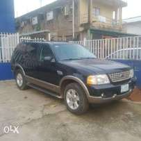 A first body, smooth used 2004 Ford Explorer, leather, ac, dvd player.