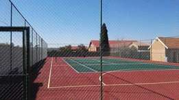 Tennis Courts Repairs and Construction R35 000