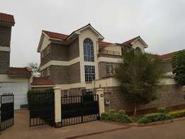 5-Bedroom Townhouse to Let Adjacent To Garden City Mall