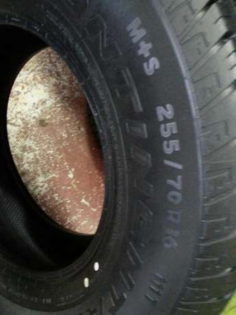 255/70R16 brand new tyres Continental cross contact on sale for bakkie Pretoria West - image 2