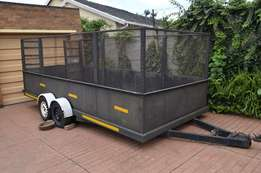 Car Trailer with ramp