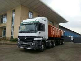 For quick sale year 2008, Actros, 2546Tipper