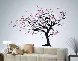 Exquisite wall mural and home painting.