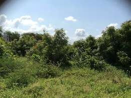 Nyali very prime 1/2 acre plot for sale