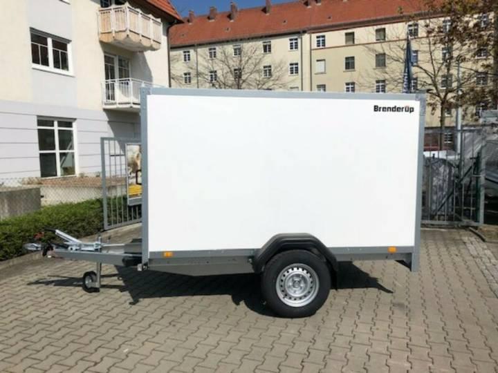 Brenderup Kofferanhänger 7260B1300 Rampe+100Km/h - 2019
