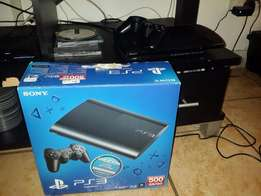 PS 3 Gaming console with 3 games