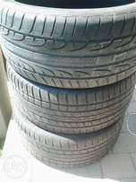 Used Tyres 21 inch X6