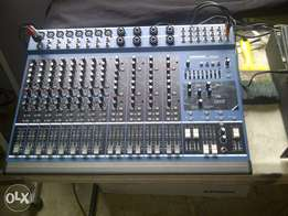 samson 16 channel mixer