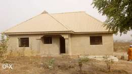 Standard 3bedroom bungalow almost finished stage for sale