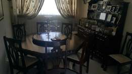 Solid Imbuia Dinning Room Suite