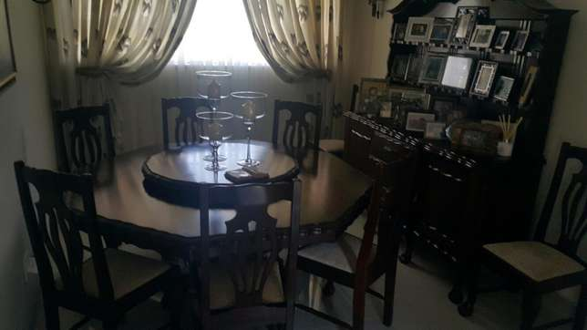 Solid Imbuia Dinning Room Suite Richards Bay - image 1