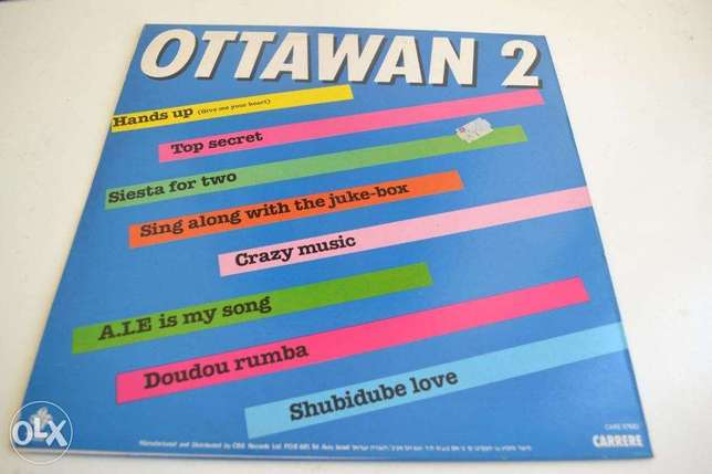 hands up second ottawan vinyl lp
