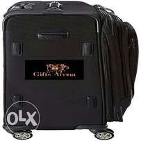 4-Wheel Travel Bag - Black