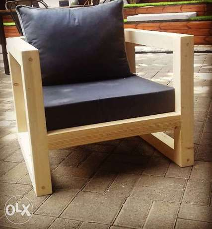 outdoor wood chair (high finishing)