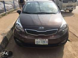 Nigeria used KIA RIO 2014 model