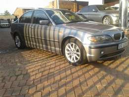 BMW e46 325,i manual with sunroof