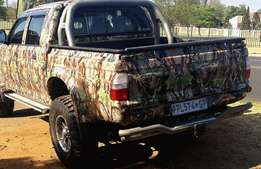 Camo Wrap your Bakkie - Awesome Designs Long Lasting