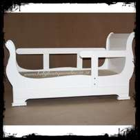 Sleigh Toddler Bed- Brand New